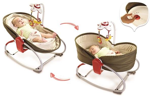 avis du transat bébé tiny love rocker napper 3 en 1 pas cher et avantage
